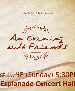 An Evening with Friends 2014